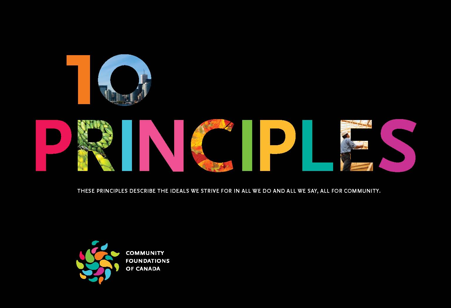 Community Foundations of Canada 10 Principles Brochure