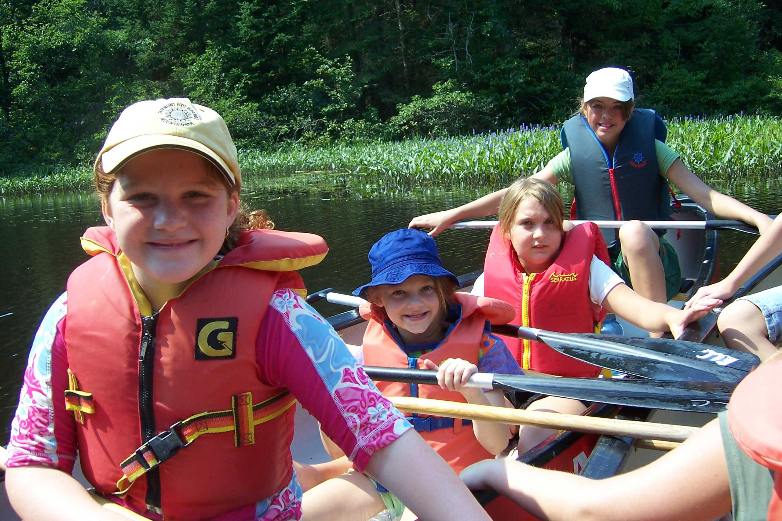 Campers at YMCA/YWCA of Guelph Day Camp